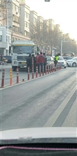 在黄4渤6路口发生一起车祸