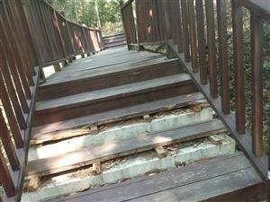 儋阳楼楼梯破败不堪,有很大◇安全隐患!