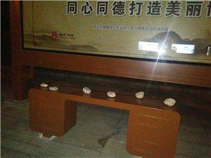 """在博兴,公交站牌下偶遇""""石头阵"""""""