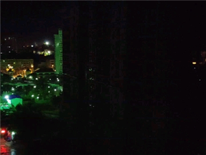 儋州京艺源小区半夜施工扰民