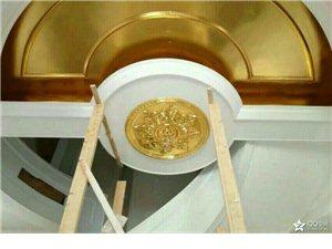 欧式古典贴金箔装饰