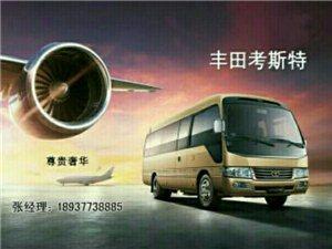南阳丰田考斯特车队(租车服务)
