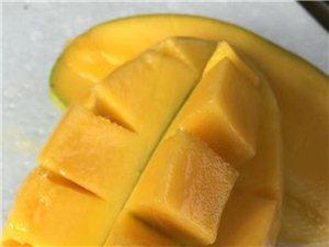 热带水果直销,其中包括百香果,芒果(大青
