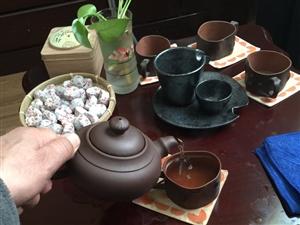 我喝茶,也喝酒
