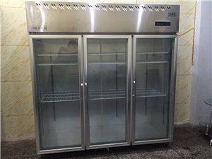 99成新3开门冷藏柜