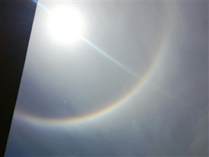 今天合江的太阳不一样