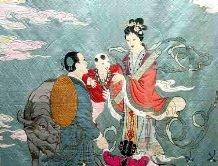 神话故事传说�D�D牛郎望仙台戏织女
