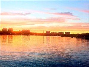 昨晚东湖晚霞很美
