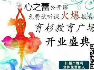临泉育杉教育广场公开课火热开启中