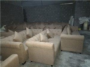 新城天街一批包厢沙发做好了,