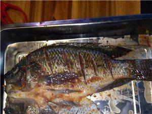 昆明一绝.特色烤罗非鱼