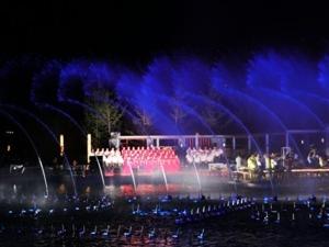中兴公园夜景