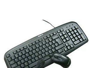 30元一套上普有线键盘鼠标套装