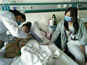7岁小姑娘顽强抗癌