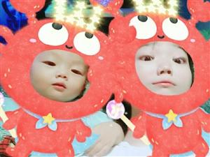 宝贝两岁多了,越来越古灵精怪。健康成长