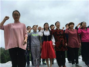 舞钢市实验高中赴革命根据地过有意义教师节