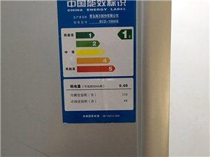 自家冰箱出售。九成新特别干净一级耗能。