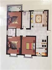 泾城华府3室2厅2卫38万元