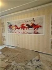 专业贴壁纸壁画,为您竭诚服务