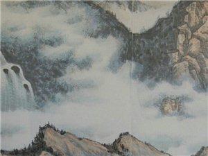 汤希忠国画山水作品(规格:280