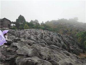 下雨天兴文石海风景很美,一个人的旅行!