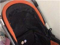 九成新的婴儿推车,我家儿子就睡了一次就没...