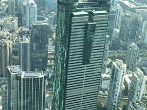 京基100鸟瞰深圳全景