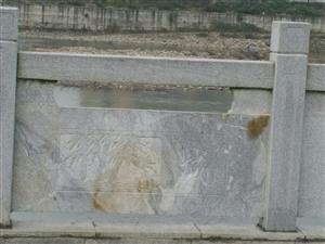 旺月堤花岗石栏杆