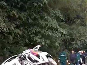 今日早上,石柱到彭水路段发生严重车祸,在