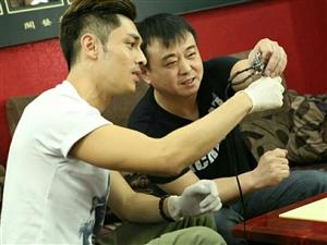 关楚耀和关艺老师学习纹身,学员作品欣赏