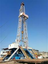大港油田钻井架高高伫立