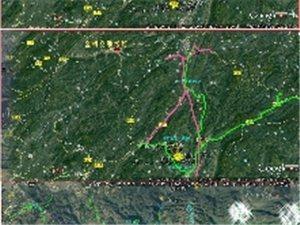 金桥徒步线路图