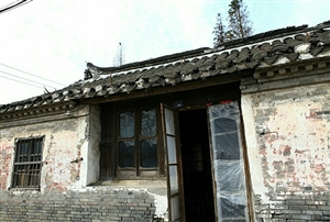 在山阳探访老房子