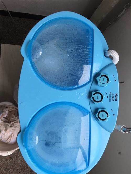 海爾小神螺半自動寶寶洗衣機