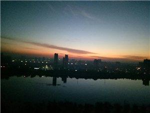 清晨,日出