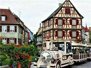 法国五彩斑斓的房子~
