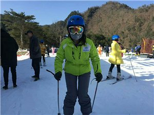 留坝紫柏山国际滑雪场今日举行开园仪式
