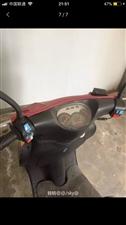格爵三阳踏板摩托车二手,提速快九成新一年...
