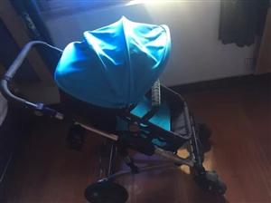 婴儿高景观手推车,真空轮胎,大减震,使用...