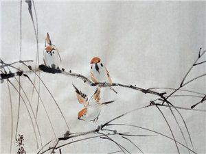 艺林轩工作室,国画作品赏析