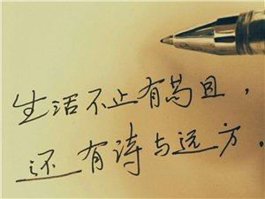 我的诗与远方