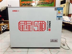 95新的星星冷柜,219升大容量,去年四月底买来门店用的,用了8个月左右,目前官网价1399,可冷冻...