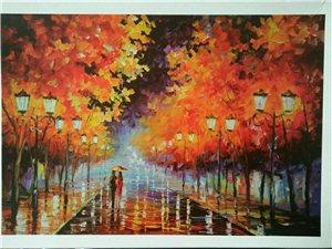 眷恋与浪漫,雨夜的漫步。