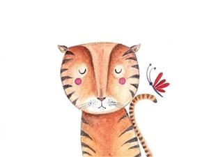 一组很有意思的动物插画?