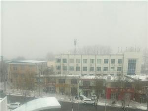 莱阳下雪了