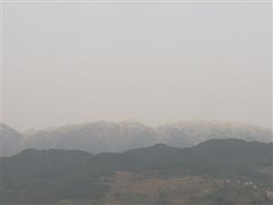 你们看得出来这是雪山吗?