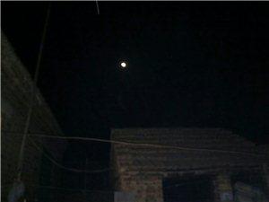 月亮,也会演绎它的美