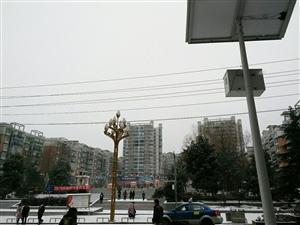镇雄人大雪天步行丈量镇雄(三)