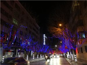 七绝.街道夜景