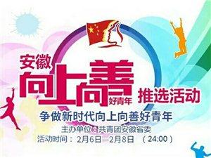 """安徽省""""争做新时代向上向善好青年""""评选活"""